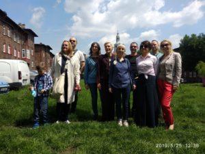Po spotkaniu  superwizyjnej  grupy samorozwojowej zwiedzanie Nikiszowca, wyjątkowego miejsca na ziemi – maj 2019 r.